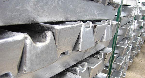 کاهش قیمت آلومینیوم در بورس لندن