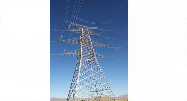 اتصال خط برق چهار کیلومتری فولاد قائنات به شبکه سراسری طی ۱۲ روز