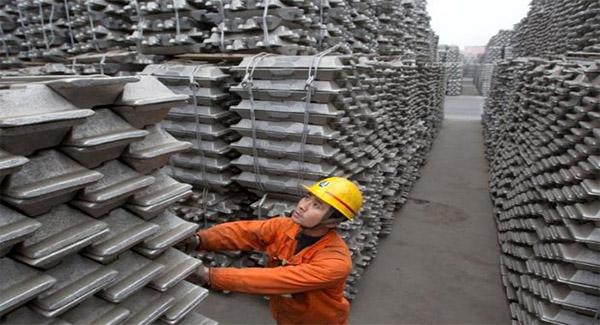 کاهش پنج دلاری قیمت آلومینیوم