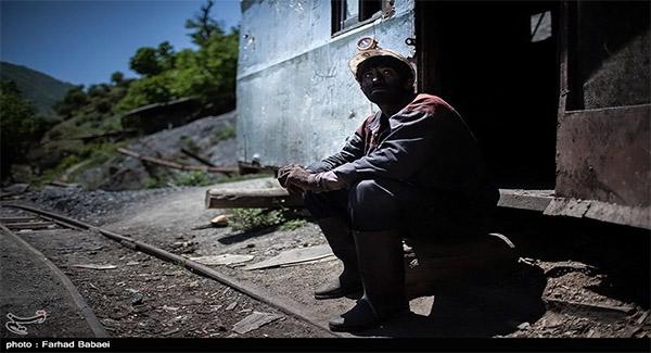 روایت کارگر معدن ذغال سنگ از کارکردن صدها متر زیرزمین