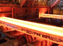 تولید فولاد آلمان بری اولین بار در سال جاری بالا رفت