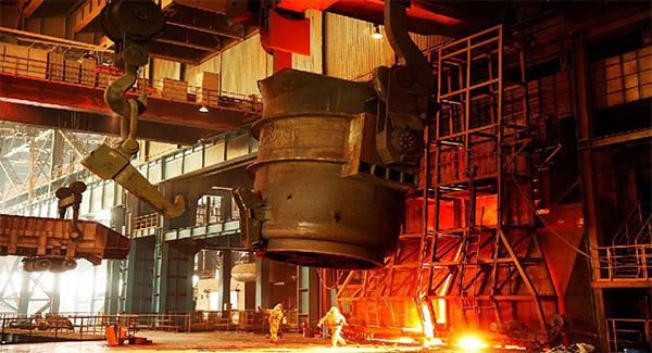 افزایش ۸ درصدی تولید شمش فولاد و ۴ درصدی محصولات