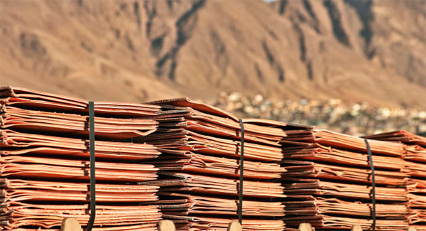 تولید بیش از ۱۶ میلیون تن مس تصفیه شده در جهان