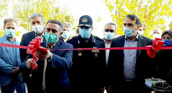افتتاح کمپ ویژه معتادان متجاهر در سیرجان با حمایت شرکت گلگهر