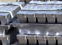 معامله ۲۱۱۰ تن شمش آلومینیوم در بورس