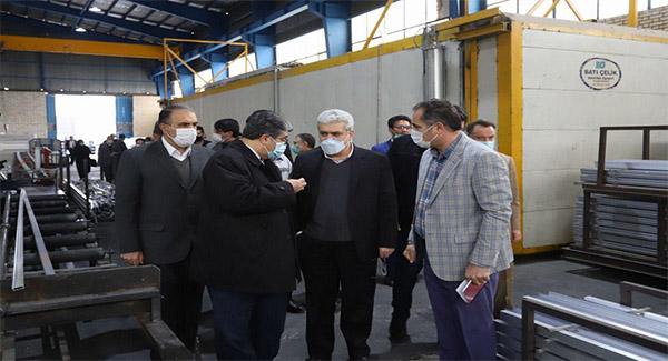بازدید معاون علمی و فناوری رئیسجمهور از شرکت ماهد آلومینیوم