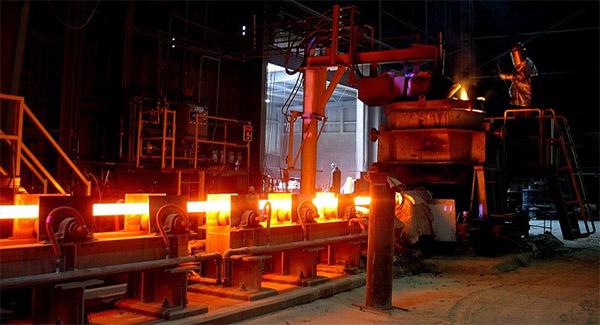 بهبود تولید فولاد در آلمان