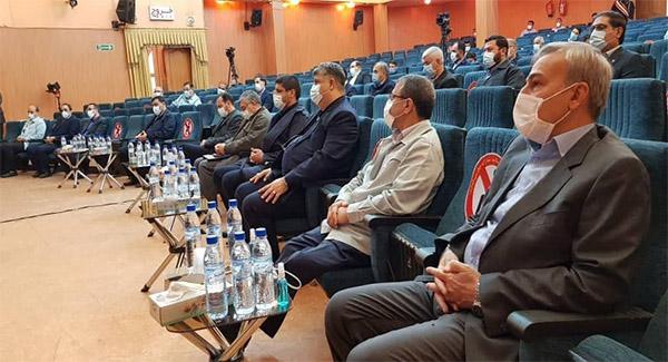 آیین تکریم علی محمدی مدیرعامل سابق شرکت فولاد خوزستان برگزار شد