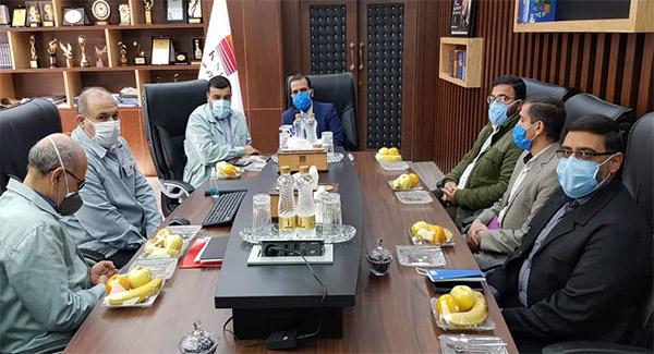 شرکت فولاد خوزستان در احیای شرکتهای نوردی نقش به سزایی ایفا نمود