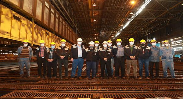 تولید ریل زبانه سوزن در ذوب آهن اصفهان در جهت خودکفایی صنعت ریلی کشور