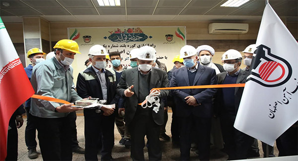 اضافه شدن سالیانه ۸۰۰ هزارتن به ظرفیت تولید ذوب آهن