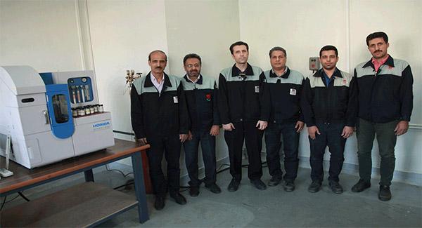 ساخت مواد مرجع آزمایشگاهی (RM) در آزمایشگاه متالوگرافی مدیریت آزمایشگاه مرکزی ذوبآهن اصفهان
