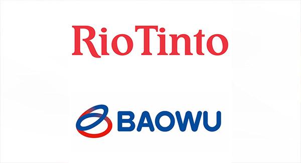 سرمایهگذاری ۱۰ میلیون دلاری ریوتینتو با Baowu چین برای تولید فولاد کم کربن