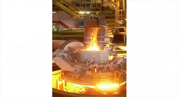 دستیابی به ركورد روزانۀ تولید ۲۱ ذوب در كورۀ قوس شمارۀ ۱ فولادسازی