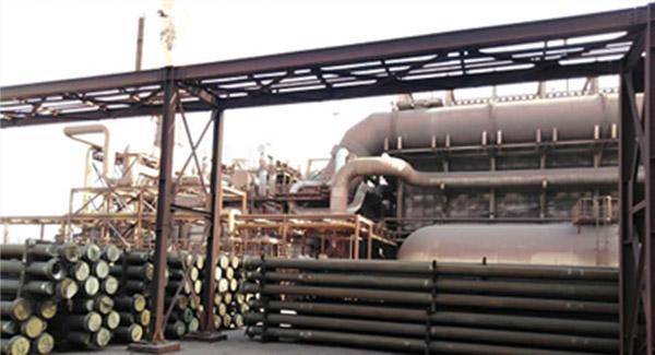 بومیسازی تیوبهای ریفورمر واحدهای احیا مستقیم فولاد مباركه
