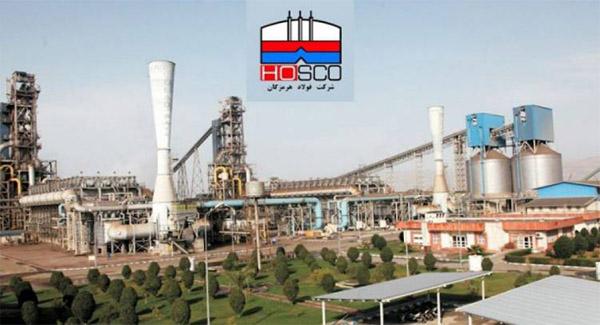 ثبت سومین ركورد تولید در فولاد هرمزگان