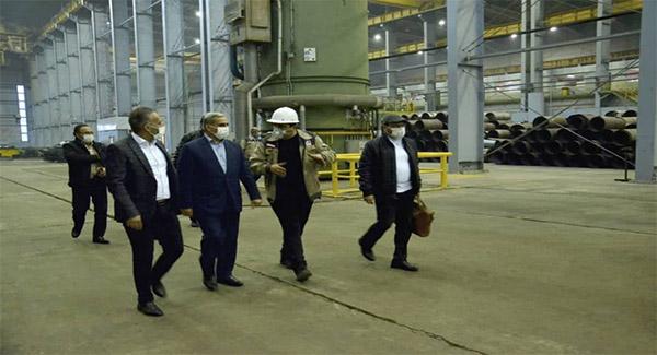 تولید سالانه بیش از ۲ میلیون تن صنایع فولادی در مجتمع فولاد گیلان