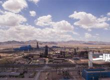 تولید بیش از ۶۸۰ هزار تن شمش فولادی در ارفع