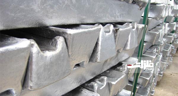 کاهش ۱۹ دلاری آلومینیوم در بورس لندن