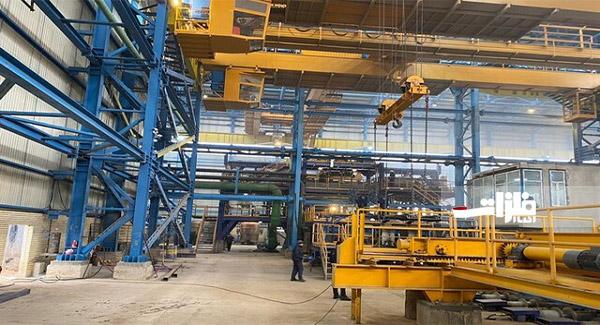 افتتاح واحد فولادی آذرحدید در آذربایجان شرقی