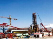پیشرفت چشمگیر پروژه فولادسازی شرکت فولاد سفید دشت
