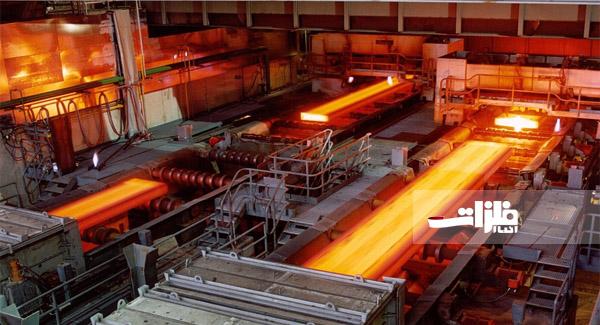 ساخت عریضترین ورق فولادی در اکسین