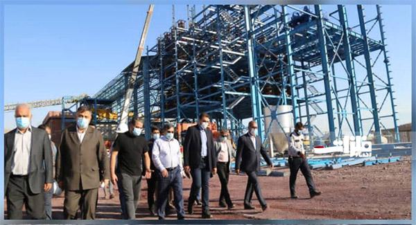 کارخانه کنسانتره آهن رضوان اردیبهشت ۱۴۰۰ به بهره برداری میرسد