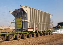 ۲ ترانس برق فولاد خوزستان وارد سایت شد