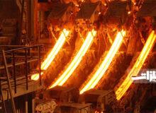 افت صادرات فولاد در آمریکا