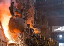 تولید آهن و فولاد خام در اوکراین افزایش یافت