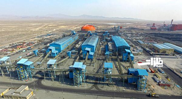 تولید بیش از ۴۰ میلیون تن کنسانتره سنگآهن در شرکتهای بزرگ