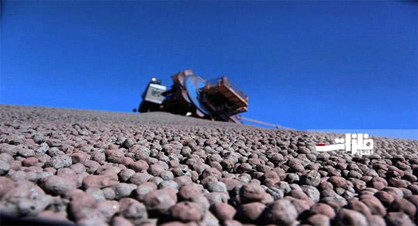 رشد بیسابقه تولید گندله سنگآهن در فولاد سنگان