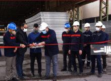 آخرین سری ورقهای فولادی پروژه ملی گوره به جاسک تحویل داده شد