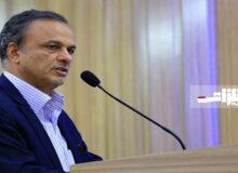 حضور وزیر صمت در افتتاح طرح انتقال آب خلیجفارس