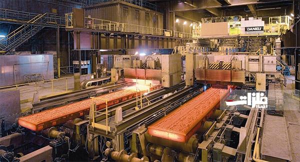 رشد ۹٫۶ درصدی تولید فولاد خام در مبارکه