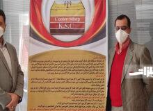 فولاد خوزستان جایزه جشنواره محصول برتر ایرانی را دریافت کرد