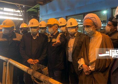 ذوب آهن، قلب صنعت فولاد کشور است