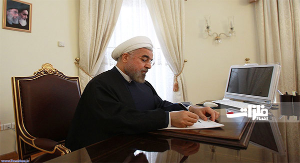 قدردانی دکتر روحانی از چادرملو برای حضور در طرح ملی انتقال آب