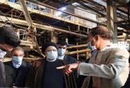 رییس قوه قضاییه از مجتمع فولاد ارومیه بازدید کرد