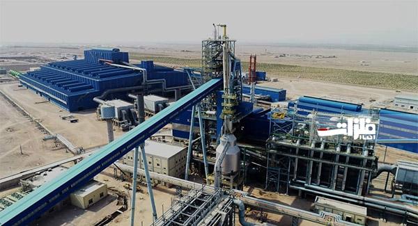 بزرگترین پروژه فولادی کشور افتتاح شد