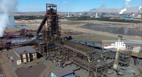 رشد ۱۰ درصدی تولید آهناسفنجی در مجتمع فولاد سبا
