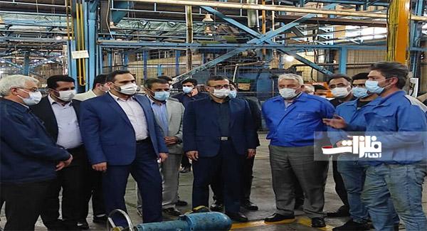 راهاندازی خط تولید میلگرد در فولاد آذربایجان