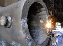 تولید بزرگترین قالب شمش فولاد در مجتمع اسفراین