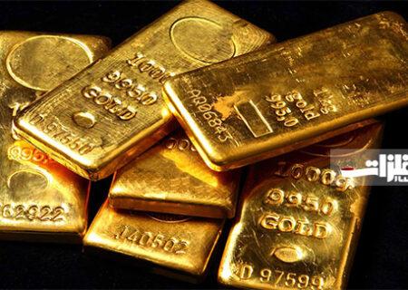 عرضه ۲۰ کیلوگرم شمش طلا در بورس کالا