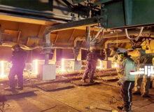 فولادخراسان موفق به ثبت رکوردی جدید در واحد ریختهگری شد