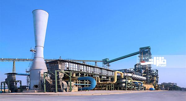 رکورد تولید ماهانه آهناسفنجی فولاد شادگان شکسته شد