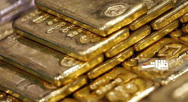 طلا با سرعت در حال کاهش است