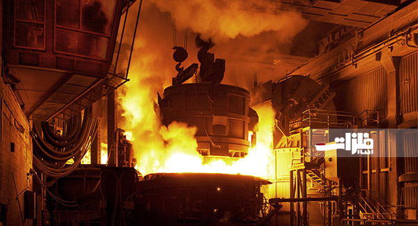 ثبت سه رکورد جدید طی یک ماه در فولاد خراسان