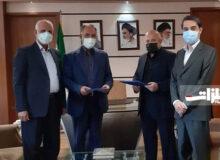 امضا توافقنامه طرح عظیم ملی فولاد قشم