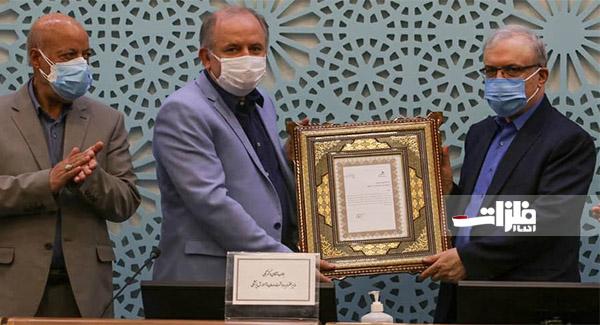 تقدیر وزیر بهداشت از حمایت فولادمبارکه برای مبارزه با ویروس کرونا